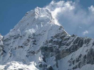 Вершина Ама-Даблам. 6848 метров.