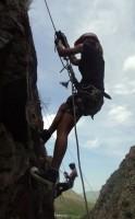 18 две альпинистки Настёна и Настя