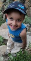31 Вот такой ребенок встретился по дороге с водопада