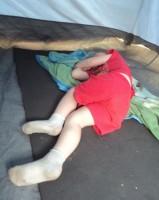 35 Тоська спит