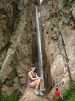7 на водопаде