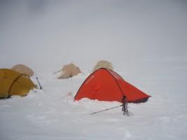 Лагерь 2 после бурана
