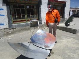 Кипячение воды в Тибете