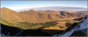 005 Panorama of Turgain gorge