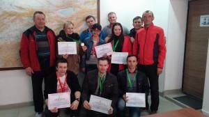 Призёры чемпионата г Бишкек по альпинизму 2016